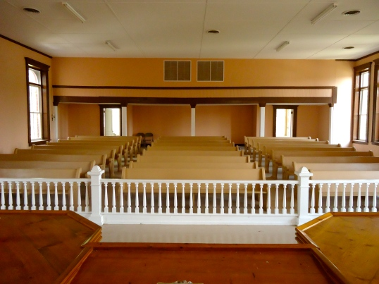 Back of the Court Room
