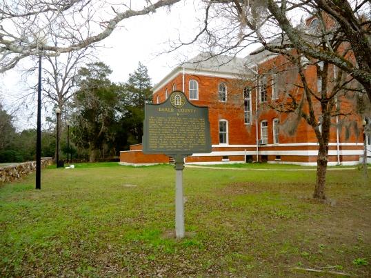 Baker County Historical Marker