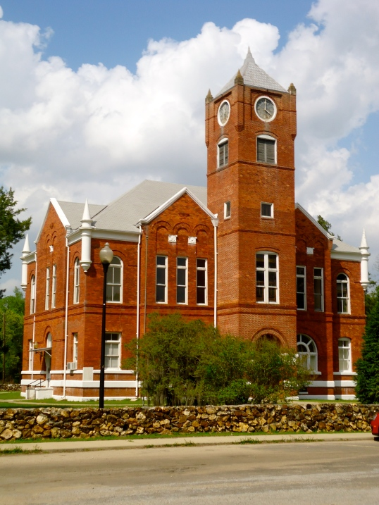 Old Baker County Court House, Newton, Baker County