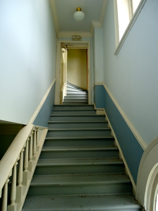 Stairs to Court Room