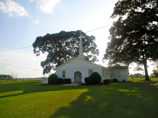 County Line Baptist Church, Cheevertown, Baker County