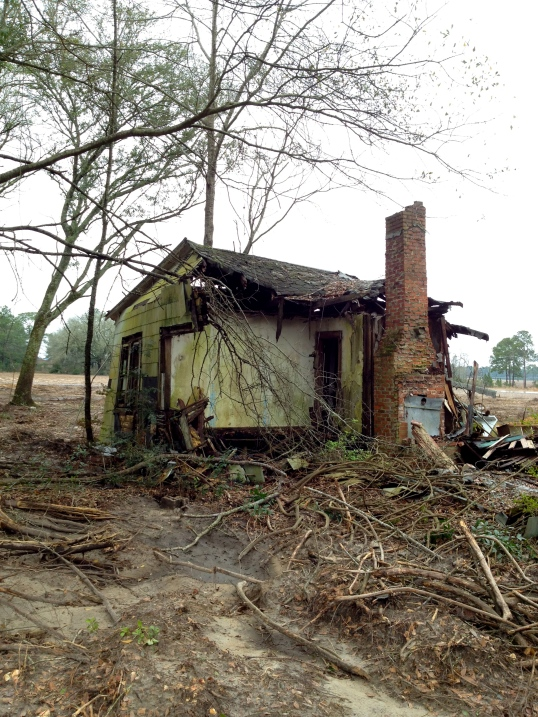 Abandoned House off of Sunset Avenue, Anna, Baker County