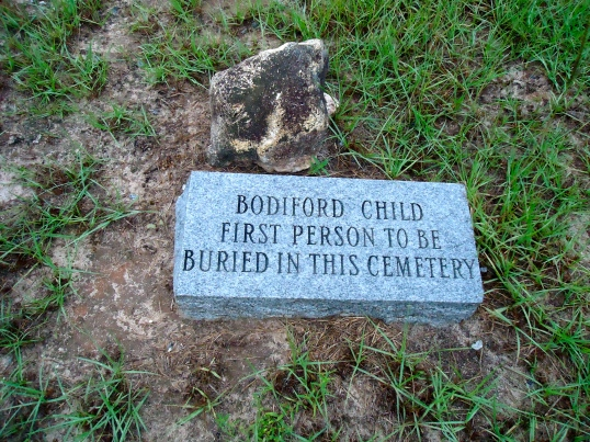 Grave of the Bodiford Child