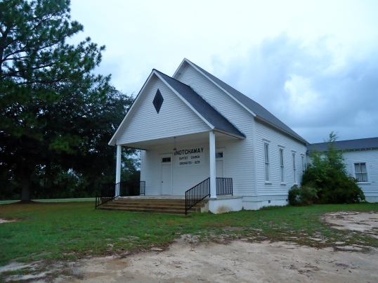 Notchaway Baptist Church, Cheevertown, Baker County