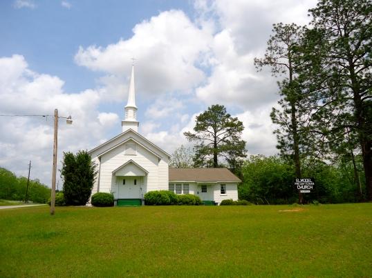 Elmodel Presbyterian Church, Elmodel, Baker County
