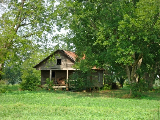 Abandoned Farm House off of Blakely Highway, Dewsville, Baker County