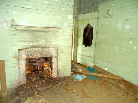 Fireplace and Coat