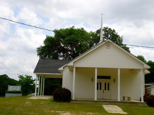 Lakeside Baptist Church, Elmodel, Baker County