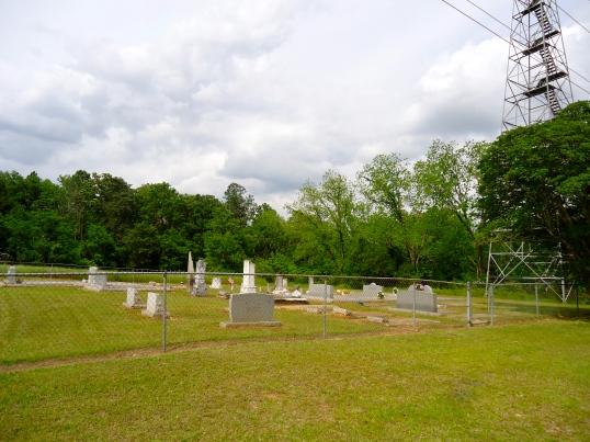Morgan-Hudgens Cemetery, Elmodel, Baker County