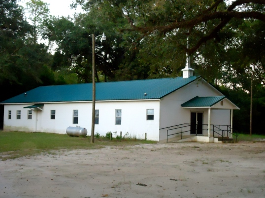 New Oak Grove Free Will Baptist Church, Dewsville, Baker County
