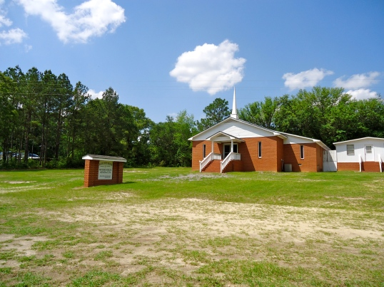 Baker County Deliverance Holiness Church, Hawkinsville, Baker County