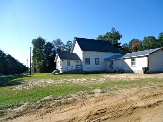 Mount Calvery Church, Hoggards Mill, Baker County