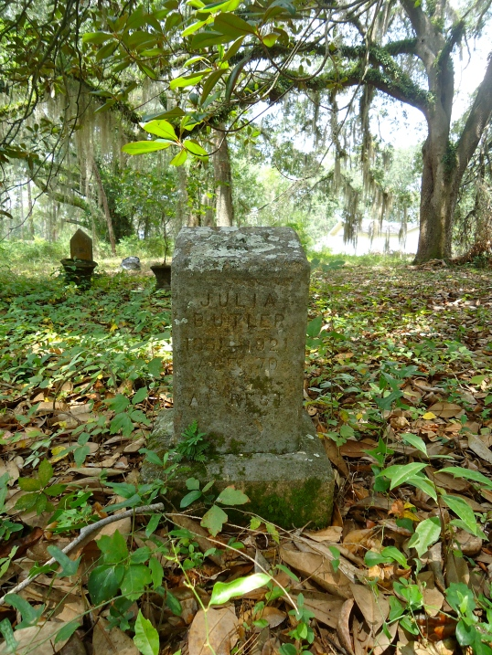 Grave of Julia Butler
