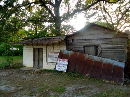 Abandoned Store, Hoggards Mill, Baker County