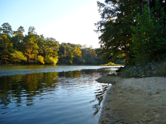 Sand Bar at Normans Ferry