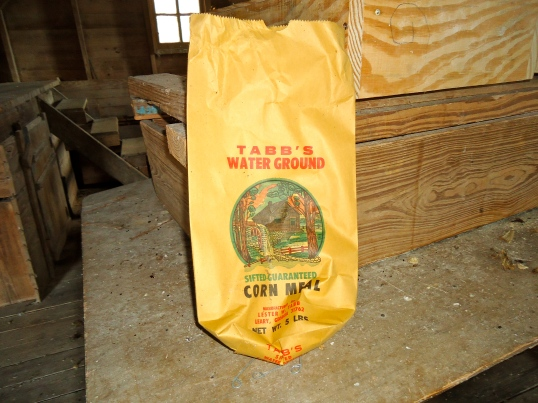 Tabb's Water Ground Corn Mill Bag