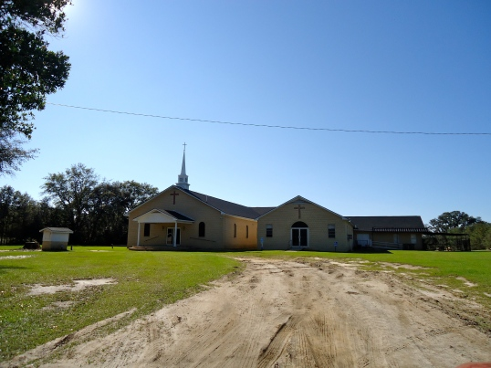 Thankful Baptist Church, Hoggards Mill, Baker County