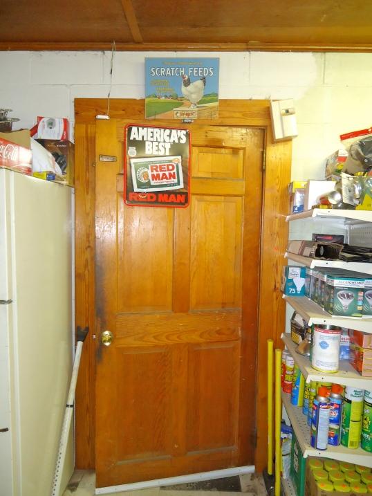 Door to the Parts Room