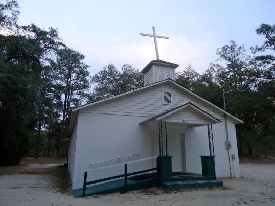 Notchaway Christian Methodist Episcopal Church, Mimsville, Baker County