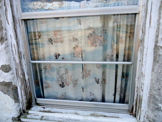 Nursery window…