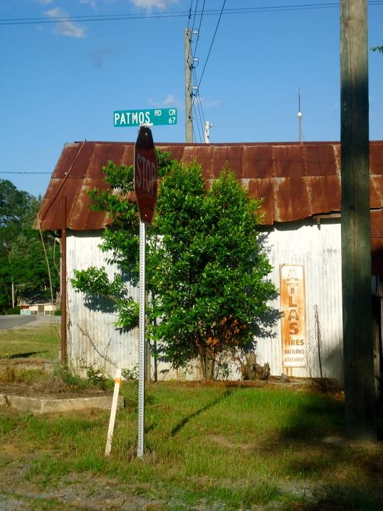 Patmos Road Sign, Patmos, Baker County