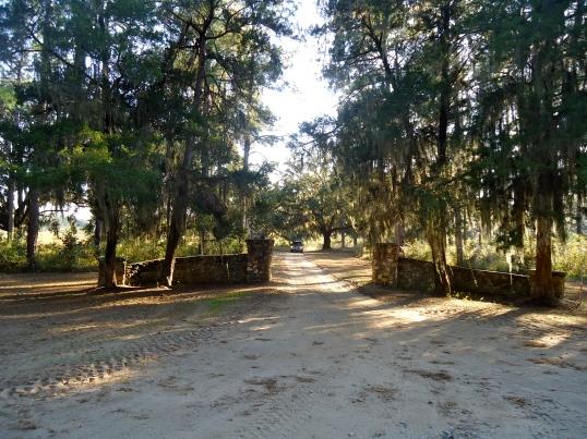 Entrance to Wildfair Plantation