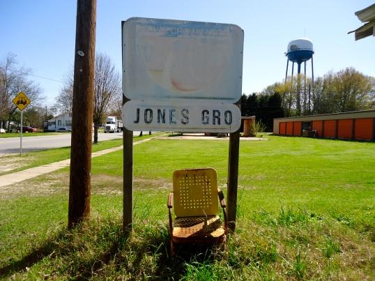 Jones Grocery Sign