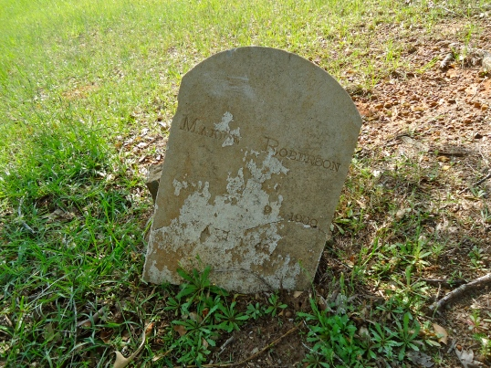 Grave of Marion Roberson