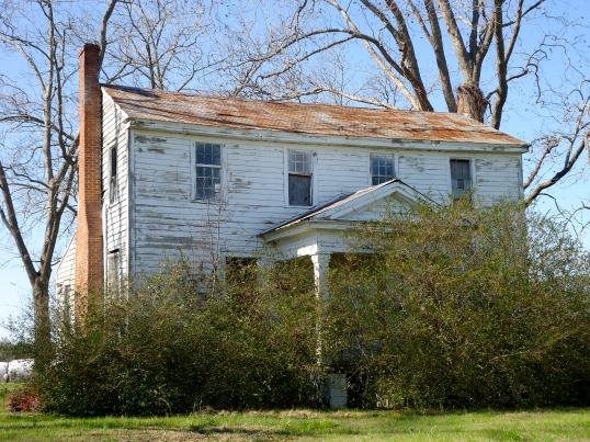 Large Abandoned House